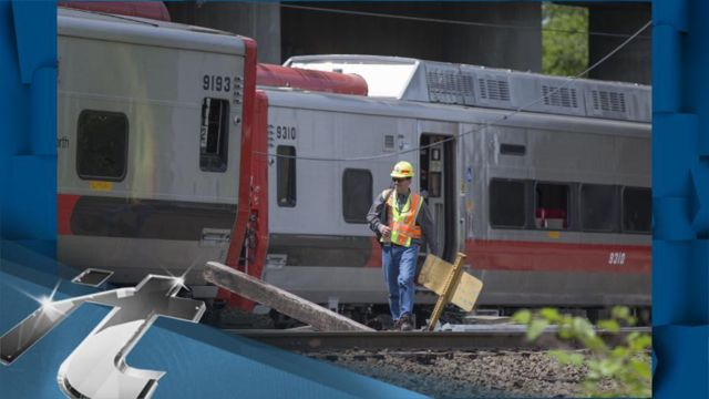 News video: Officials Warn of Commuter Chaos From Connecticut Derailment