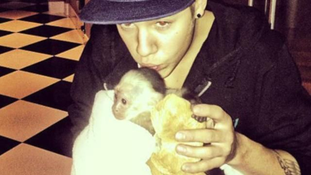 News video: Justin Bieber Owes Large Vet Bill for Abandoned Pet Monkey