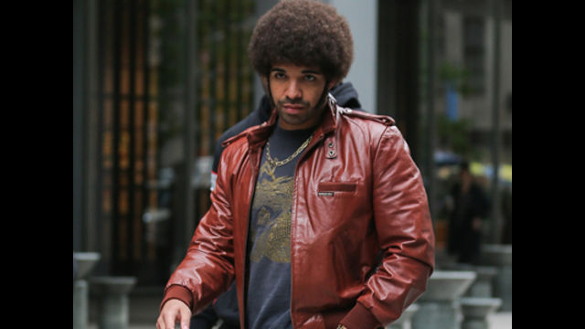 News video: Drake Rocks Afro For Anchorman Cameo