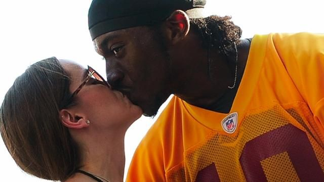 News video: RG3 Showered with Wedding Gifts by Fans