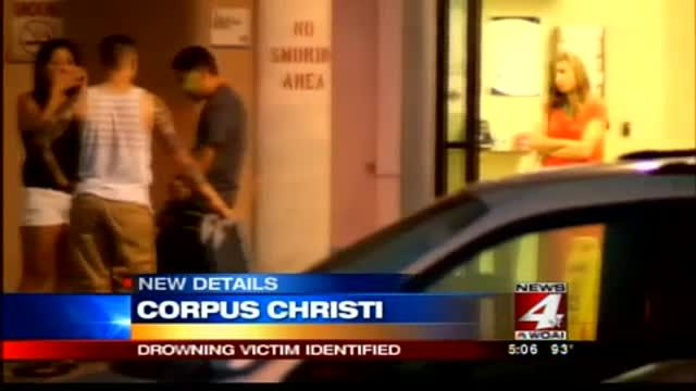 News video: San Antonio man drowns in Corpus Christi